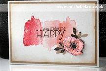Stampin Up Happy Water colour