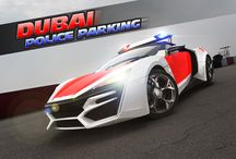 Dubai Police Parking / Can you park an awesome car in this crowded city? Give it a try and enjoy the game