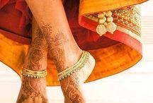 Fire woman henna