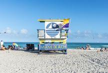 "South Beach Lifeguard Chairs / Photo series of  ""South Beach Lifeguard Chairs"" in South Beach, Miami, Florida.  http://www.richardsilverphoto.com/Portfolios/South-Beach-Lifeguard-Chairs"