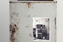 GREY-distressed vintage industrial furnitures&interiors
