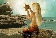 Mermaids / by Debi Puckett