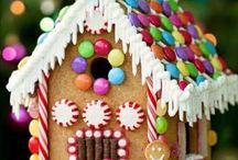 Gingerbread house Christmas