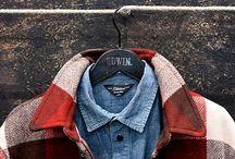  Men's Fashion  / by Allison Hayes