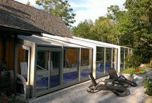 Lean-to Pool Enclosure / Our Retractable Lean-To Pool Enclosures can be attached to an existing house.Add digital control system to elecrically control the operation of enclosure in pool & spa. Pool Cover was developed to remove the hassle and effort of covering and uncovering your pool. We bring innovation and creativity to the market through superior quality products for pool like Pool cover and Pool Enclosures.