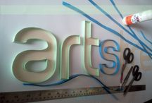 Quillography / Quilling with typo....