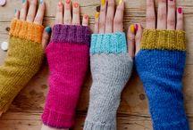 hækle handske