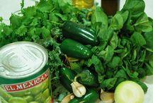 Salsas / An accompaniment for tacos, eggs, quedadillas and more...
