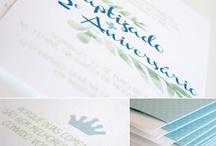 O nosso Kit Principes e Coroas / Kit Baptizado + Aniversário. Também disponível para menina aqui: http://www.chapeudepapel.com/2013/06/kit-princesas-coroas.html