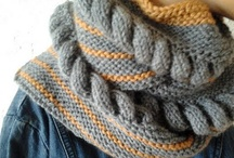 Knitting and Crochet projects / by Myra Kness