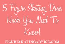 Figure skating / Figure Skating Inspiration | Skating outfits + quotes + stretches