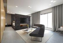 Sleek design meets absolute comfort / Hotel room interior, luxury hotel interior, luxury interior design, modern hotel furniture