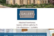 Gallery at Cornerstone in Walnut / New Homes in Walnut coming soon! Architectural distinction and spacious townhome style make Gallery an outstanding choice. Modern features and finishes deliver on today's most-wanted styles. And decks and open plan design add to the ambiance.
