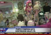 Purple Pumpkin Gifts in the news!