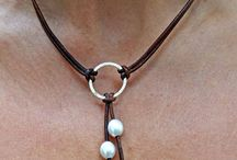 leather neckleaces