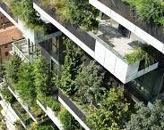 Фасады с зеленью