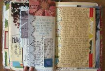 art journal ideas / A board of ideas to use in my journals:) / by Scrappywife