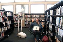 Beam / Le robot de téléprésence #Beam à la bibliothèque