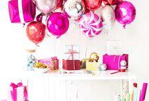 Foil balloon decorations