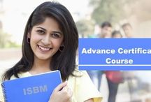 Advance Certificate / This is a short term hardcore specialization study module. Where the student only studies the subject of his specialization and is a certificate holder in the same.