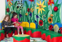 Themed Areas / Highly attractive seating and themed environments in stunning ranges for nurseries and schools.