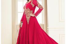 Bollywood Anarkali Salwar Kameez / Shop the latest bollywood Anarkali Salwar Kameez collection online at the best price @ http://www.hatkay.com/anarkali-salwar-kameez