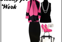 What Are You Wearing to Work? / Picture Ideas for what to wear to work or job interviews.