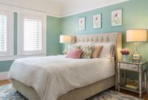 Colorful Feminine Design / Vibrant interiors that reflect the personality, character, and style of the individual.