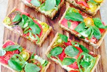 Sweet & Savoury Tarts / Some Paleo, some dairy free, all sugar free. All delicious!