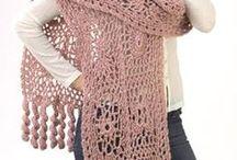 Crochet Wraps, Shawls & Scarves