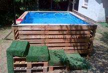 Wooden pallets stuf