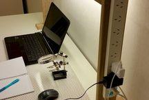 Accesorios para mesa de trabajo