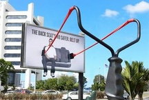 Guerilla Marketing / Clever, unusual, and unexpected marketing and advertising campaigns for inspiration... / by Angie Schottmuller