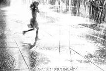 Sous la pluie... / by Tina Defaud