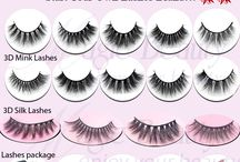 Custom Lashes Package / Customize Lashes package with any color, any pattern design, any shape you like