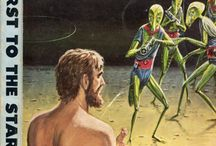 Sci Fiction Pulp Covers