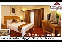 City Garden Suites / Hurry!!! Avail our lowest guaranteed rates at www.manila.citygardenhotels.com  For inquiries call us at (+632) 536-1451 / by City Garden Suites