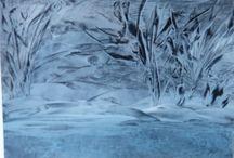 Atelier BB/ Encaustic (Wachsmalerei) / Meine Encausticbilder können gern käuflich erworben werden. :-)
