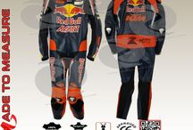 Ktm red bull racing leather suit
