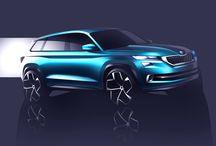 La ŠKODA Vision S / Avec le concept Vision S, découvrez la nouvelle identité stylistique de ŠKODA sur le segment des SUV.