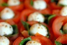 Finger Food & Vorspeisen / Tomate Mozzarella