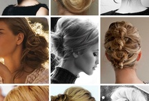 Evening hairstyle