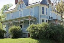 Blue Houses / Stand out blue homes you want to visit. / by Diana deming From Virginia