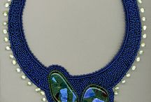 Bead Embroidery - Necklaces