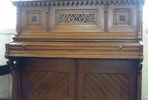 Gothic Style Pianos / Pianos with Gothic Style Cabinets
