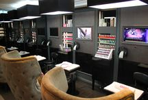 Salon of the month: Paul Edmonds / We spent a day in the luxurious Knightsbridge based salon, Paul Edmonds, to see what it's like to be an essie salon, and boy were we spoilt! Read more at http://www.essie.co.uk/thescoop/events-competitions.aspx