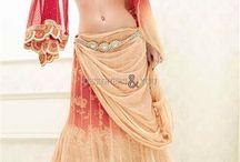 Bridal Lehenga Choli Saree / #Wedding bridal sarees inspired by #Pakistanibridal #lehenga  choli  also known as bridesmaid saree