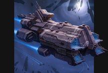 Sci fi ships/vehicles