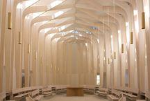 Architecture: Ecclesiastical / Religious spaces #church #mosque #temple #shrine #funeral #memorial #death #architecture