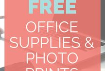 Free Printables / Great for general organisation and tasks either around the home or at work!